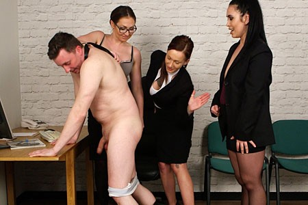 Office Spanking from PureCFNM